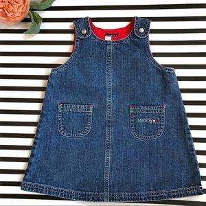 Tommy Hilfiger Vintage Denim Dress Sz 12-18 Months
